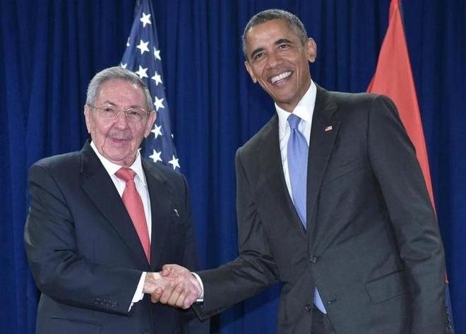 Tong thong Obama tham chinh thuc Cuba hinh anh 1