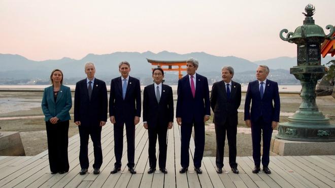 G7 ngam chi trich hoat dong phi phap cua TQ tren Bien Dong hinh anh 1