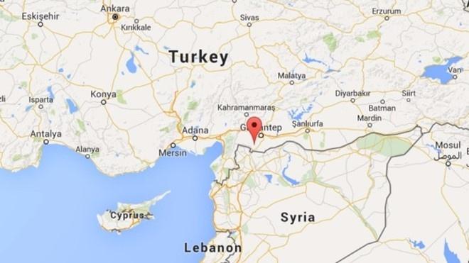 Tho Nhi Ky na phao vao lanh tho Syria hinh anh 2