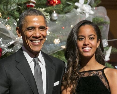 Tieu thu nha Obama se hoc Harvard hinh anh 1