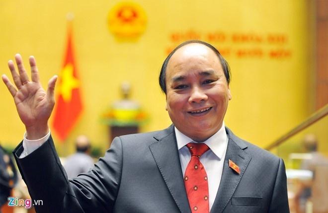 Thu tuong Nguyen Xuan Phuc sap tham Nga hinh anh