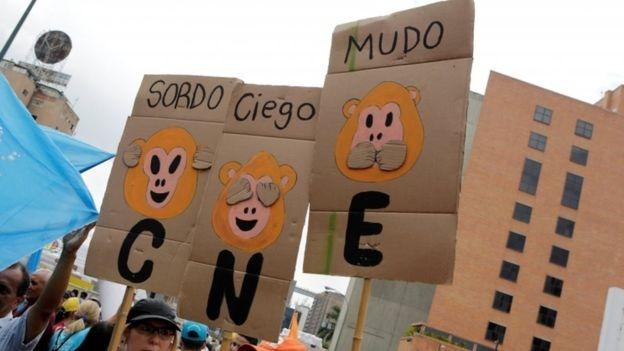 Venezuela hien nhu qua bom no cham anh 1