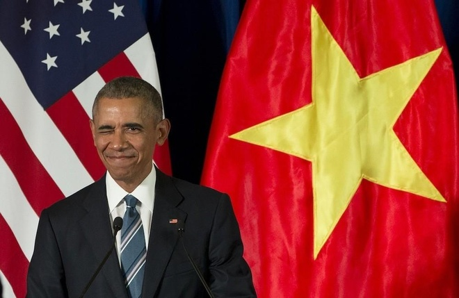 Ty le ung ho Obama tang cao anh 1