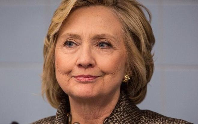 Ba Clinton thang o Puerto Rico, tien rat sat ghe ung vien hinh anh