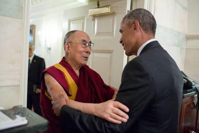 Trung Quoc noi gian vi Obama gap Dalai Lama hinh anh 1