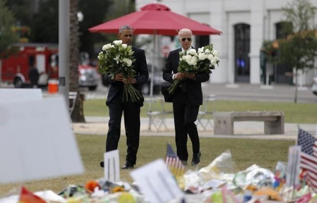 Obama tham gia dinh nan nhan tham kich Orlando hinh anh 1