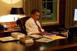 Tong thong Obama ve dem: Nhung gio rieng tu quy gia hinh anh