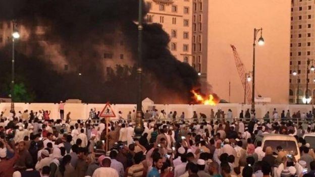 Saudi Arabia rung dong vi 3 vu danh bom trong 24 gio hinh anh