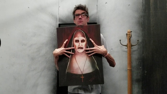 Javier Botet  Mama The Conjuring anh 13