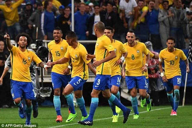 Brazil – chang chien binh sieu Xayda cua the gioi bong da hinh anh 1