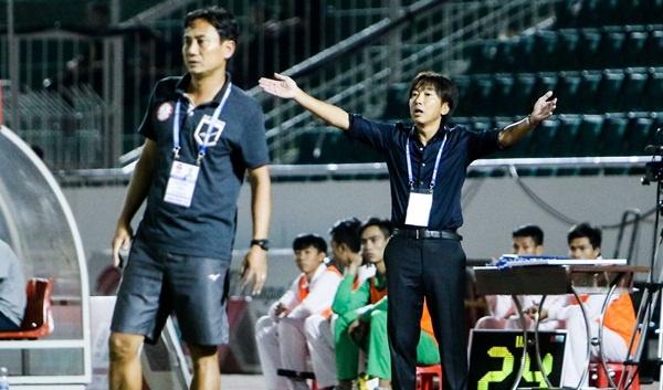 HLV Miura 'chet di song lai' voi tran hoa 3-3 truoc CLB Can Tho hinh anh