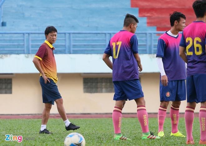 Phan Van Tai Em,  Nguyen Thanh Cong,  CLB Sai Gon,  Sai Gon FC,  Tai Em,  Nam Dinh,  Rot hang,  V.League 2018 anh 2