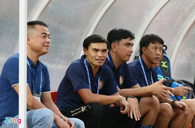Phan Van Tai Em,  Nguyen Thanh Cong,  CLB Sai Gon,  Sai Gon FC,  Tai Em,  Nam Dinh,  Rot hang,  V.League 2018 anh 1