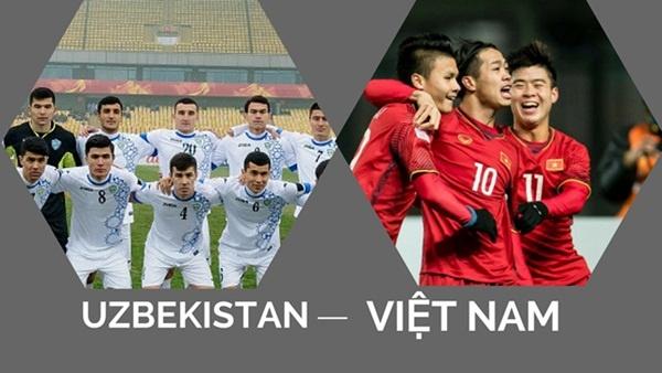 Quang Hai, Bui Tien Dung gap lai U23 Uzbekistan tai My Dinh hinh anh