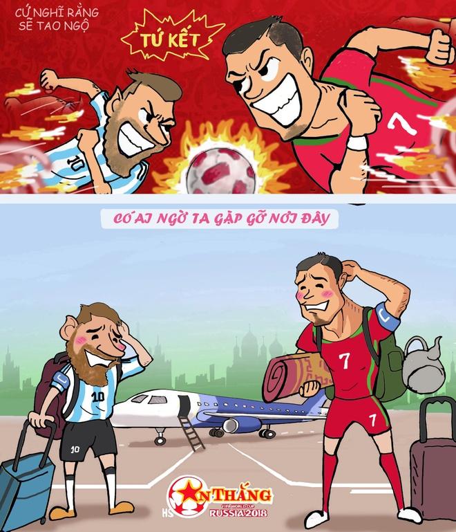 Hi hoa Ronaldo dap xe cho Messi duoi theo xe xin cua Kane, Hazard hinh anh 7