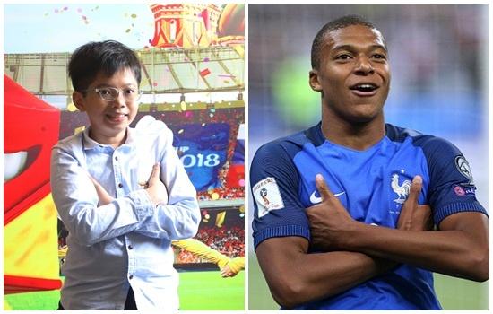Cau be Viet Nam du chung ket World Cup muon nam tay Mbappe cua Phap hinh anh