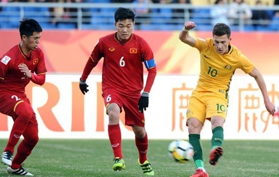 U23 Viet Nam khong muon da voi U19 Australia o giai U23 quoc te hinh anh