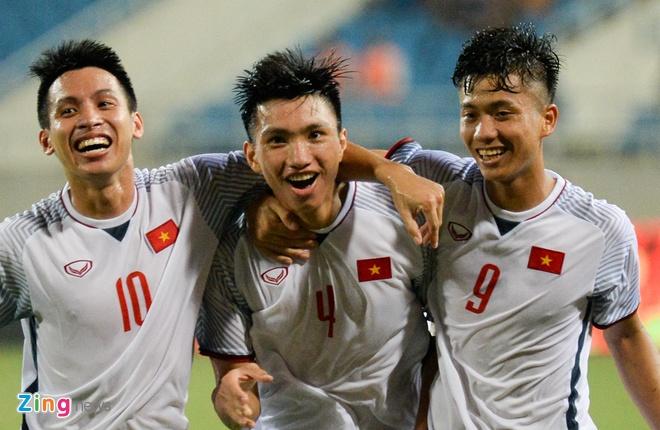 Olympic VN vs Olympic Oman (1-0): Doan Van Hau ghi ban dep mat hinh anh 1