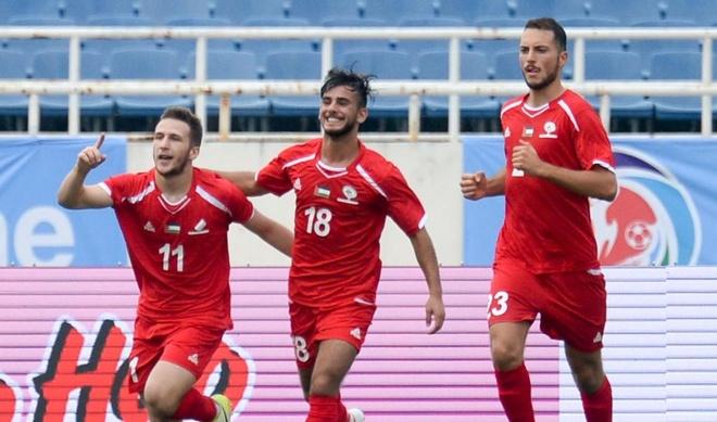 Thu mon mac sai lam, U23 Uzbekistan om han truoc U23 Palestine hinh anh