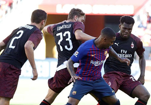 Barca vs AC Milan (0-1): Nhan ban thua phut 90+3 hinh anh