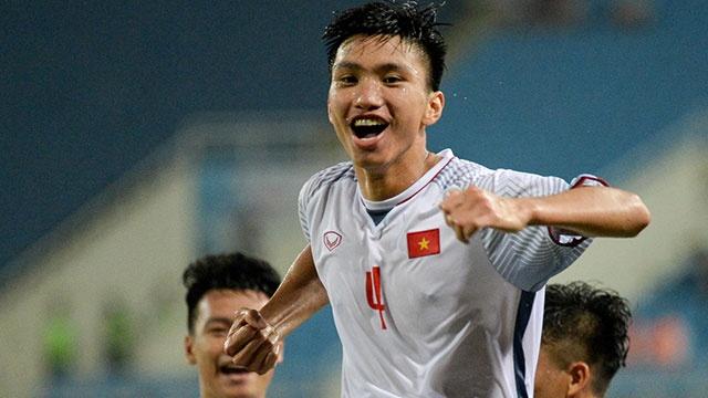 Olympic VN vs Olympic Oman (1-0): Doan Van Hau ghi ban dep mat hinh anh