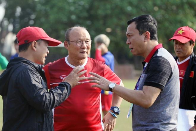 VFF,  AFF,  SEA Games 30,  Viet Nam,  Tran Quoc Tuan,  Phan Van Duc,  Do Duy Manh,  U23,  U22 Viet Nam anh 1