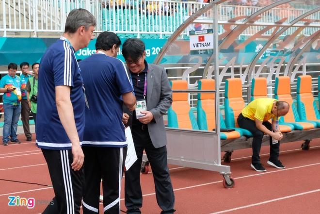 HLV Park Hang-seo du cam truoc ket qua voi Olympic UAE? hinh anh 1