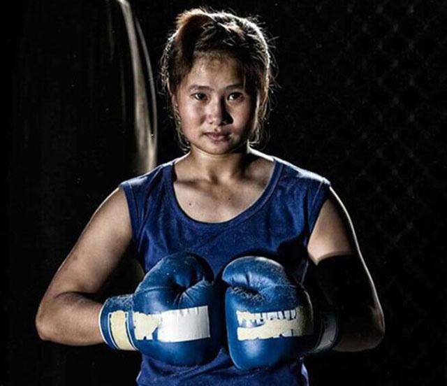 Le Thi Bang,  SEA Games 28,  Boxing,  Vu Thi Thuy Dung,  cua chan,  ASIAD anh 1
