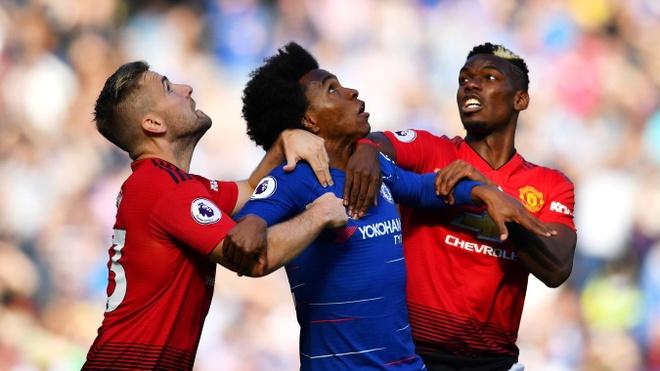 Trận đấu kịch tính giữa MU & Chelsea - David Luiz chỉ trích chiến thuật MU