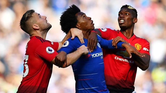 Chelsea vs MU (2-2): 'Quy do' danh roi chien thang o phut 90+6 hinh anh