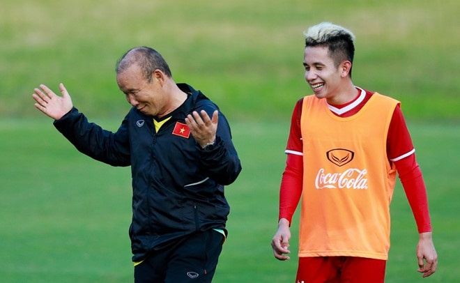 Truong doan DT Viet Nam: Can giai quyet van de tam ly o AFF Cup 2018 hinh anh