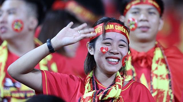 Viet Nam vs Malaysia: Co dong vien san sang tiep lua o My Dinh hinh anh