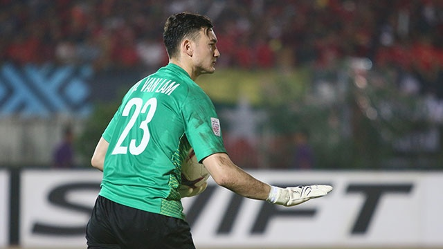 Myanmar vs Viet Nam (0-0): Phan Van Duc dut diem trung cot hinh anh
