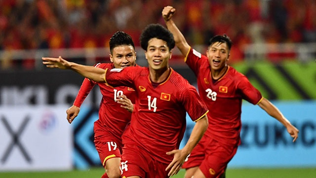 Cong Phuong, Anh Duc ghi ban giup DT Viet Nam thang Malaysia 2-0 hinh anh