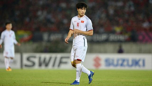 Myanmar vs Viet Nam (0-0): Cong Phuong bo lo co hoi ghi ban hinh anh