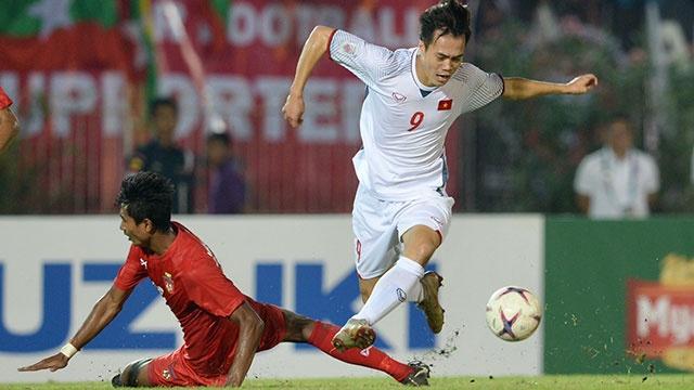 Myanmar vs Việt Nam (0-0): Trọng tài từ chối bàn thắng của Văn Toàn