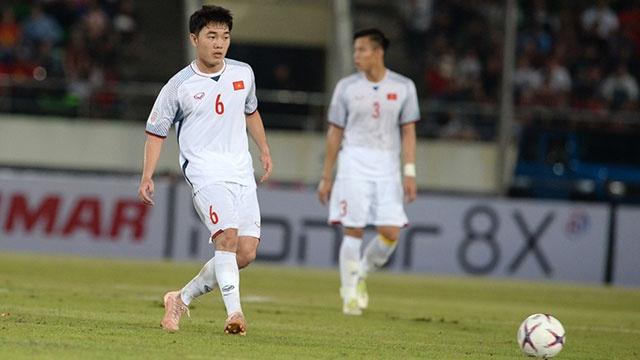 DT Viet Nam vs Malaysia: Quang Hai va Xuan Truong da cap tien ve hinh anh