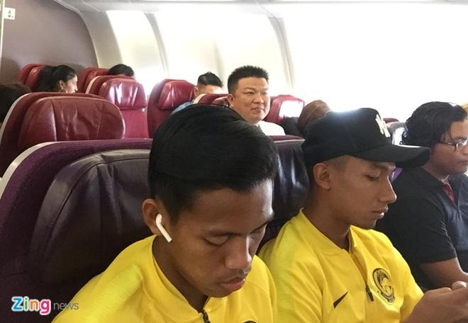 Tuyen Malaysia len duong den Ha Noi da chung ket luot ve AFF Cup hinh anh