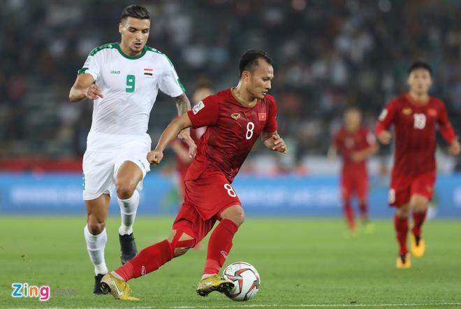 Trong Hoang nhan the vang nhanh nhat Asian Cup 2019 hinh anh 1
