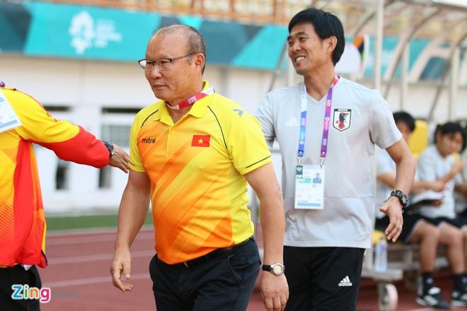 Hoang Van Phuc,  HLV,  Park Hang Seo,  U23 Viet Nam,  Nhat Ban,  Asian Cup anh 1