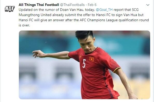Tuong lai cua Doan Van Hau phu thuoc vao ket qua AFC Champions League hinh anh 1