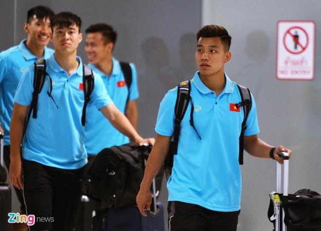 Tuyen Viet Nam co mat o Thai Lan, san sang cho King's Cup hinh anh 1