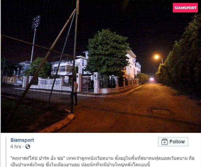 Phong vien Thai Lan thi sat nha ong Park Hang-seo hinh anh 1