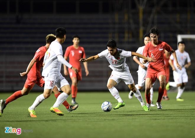 HLV Singapore: 'U22 Viet Nam se vao chung ket SEA Games 30' hinh anh 1