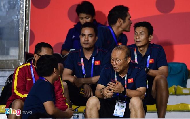 HLV Park khong can thu dien thoai cua U22 Viet Nam hinh anh 2