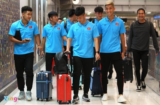 U23 Viet Nam chia lam 2 nhom ve Bangkok gap CHDCND Trieu Tien hinh anh 1 u23_viet_nam_zing.jpg