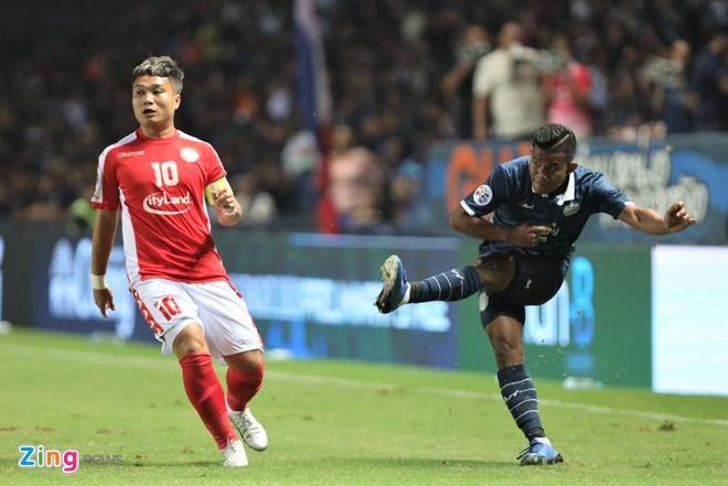 CLB TP.HCM that bai o vong so loai AFC Champions League hinh anh 1 buriram_zing.jpg