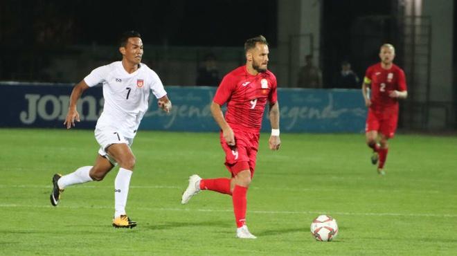 FIFA, AFC dieu tra 8 cau thu Myanmar vi nghi ban do hinh anh 1 Kyrgyz_Republic_myanmar.jpg