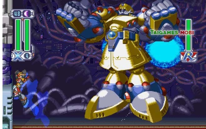Su lui tan cua Mega Man, mot trong cac dong game hay nhat moi thoi dai hinh anh 3 gameplay_trong_game_megaman_x4.jpg