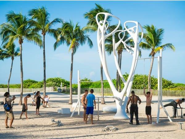 Bai bien Miami anh 5